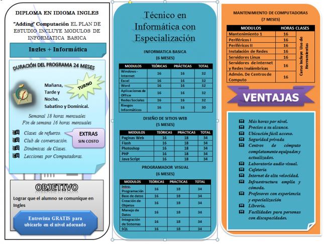 brochures on word